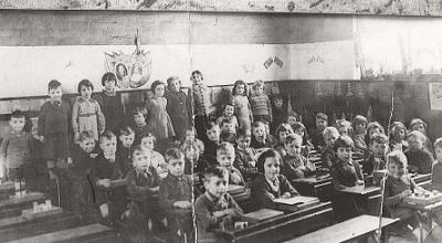 Classroom from 1920s